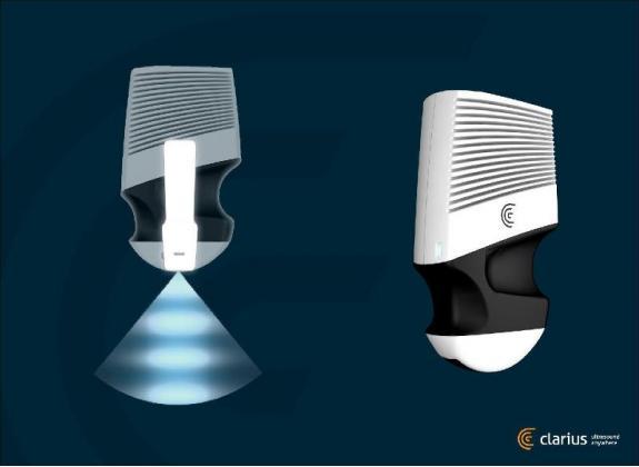 Clarius - le système d'échographie sans fil. BiMedis
